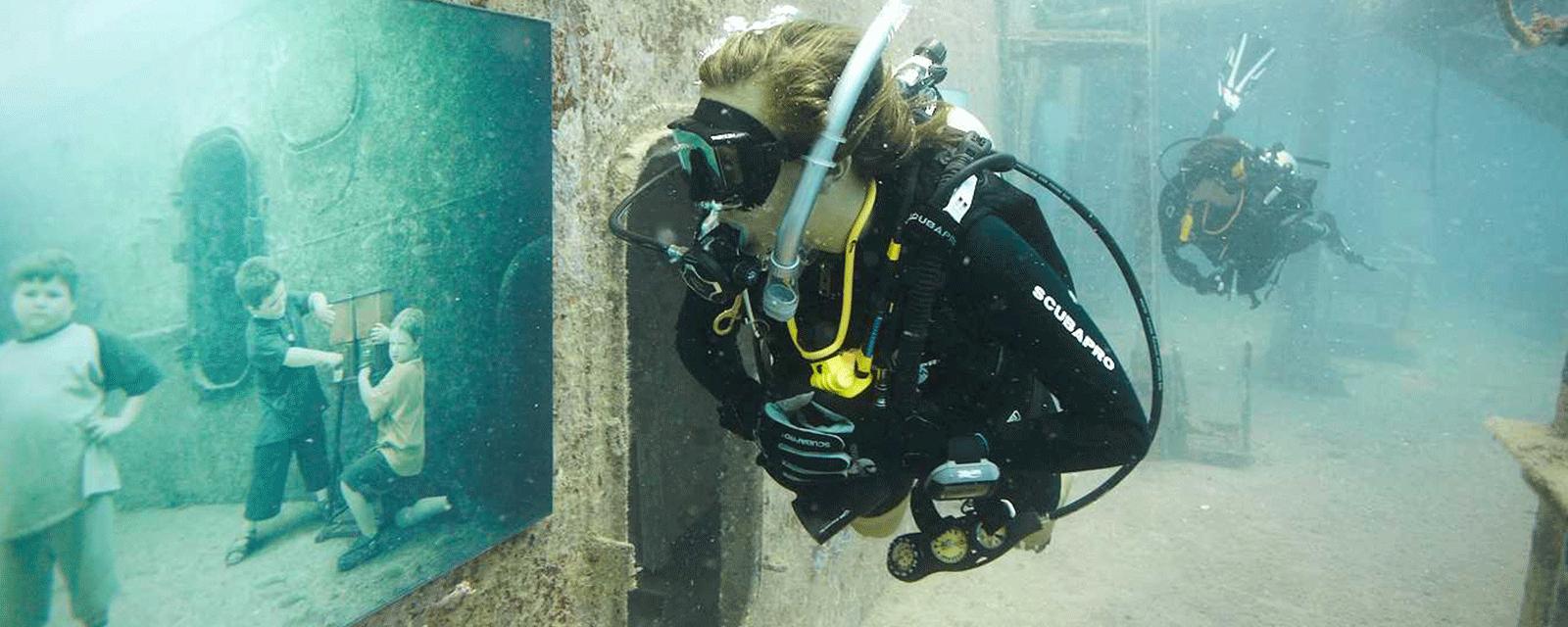 The Vandenberg - Unterwasserausstellung