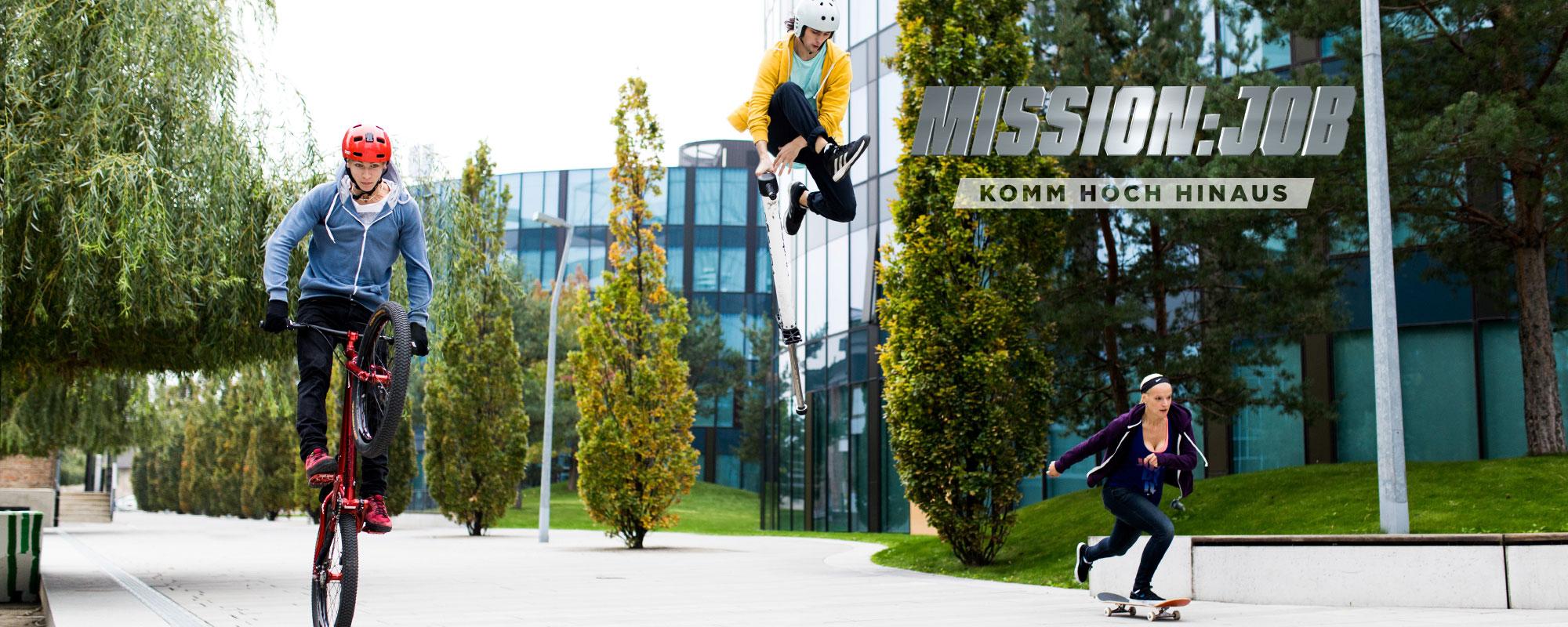 Mission:Job – Komm Hoch Hinaus